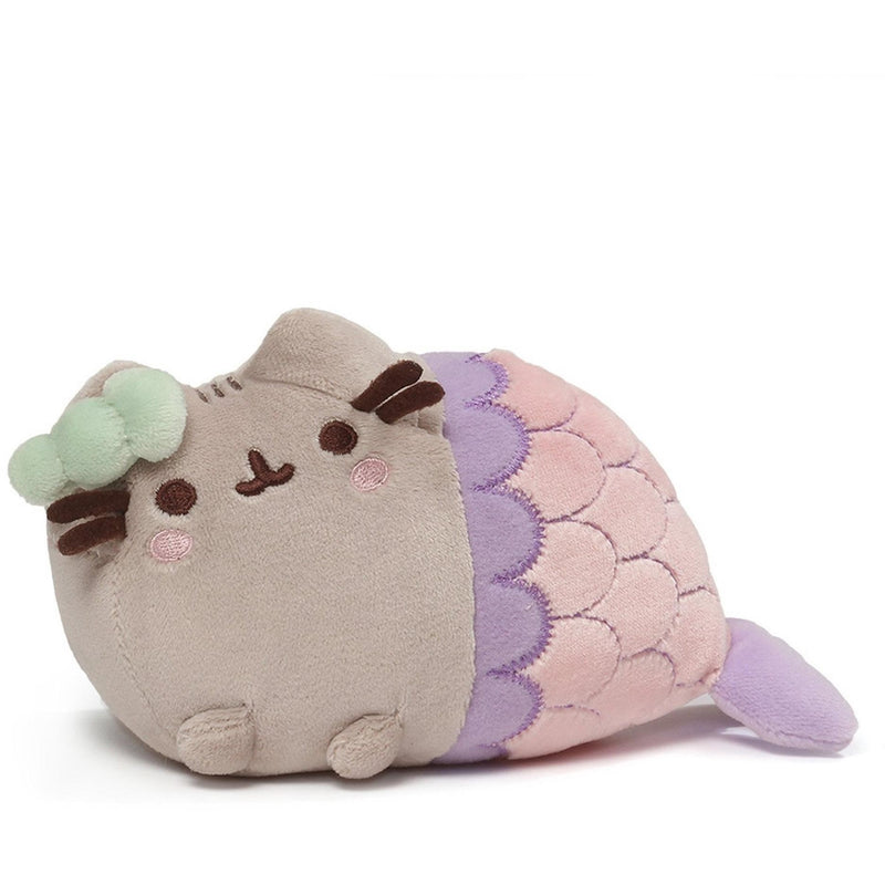 "Gund Pusheen Mermaid Spiral Shell Plush 7"" - Licensed Plush Characters - Anglo Dutch Pools and Toys"