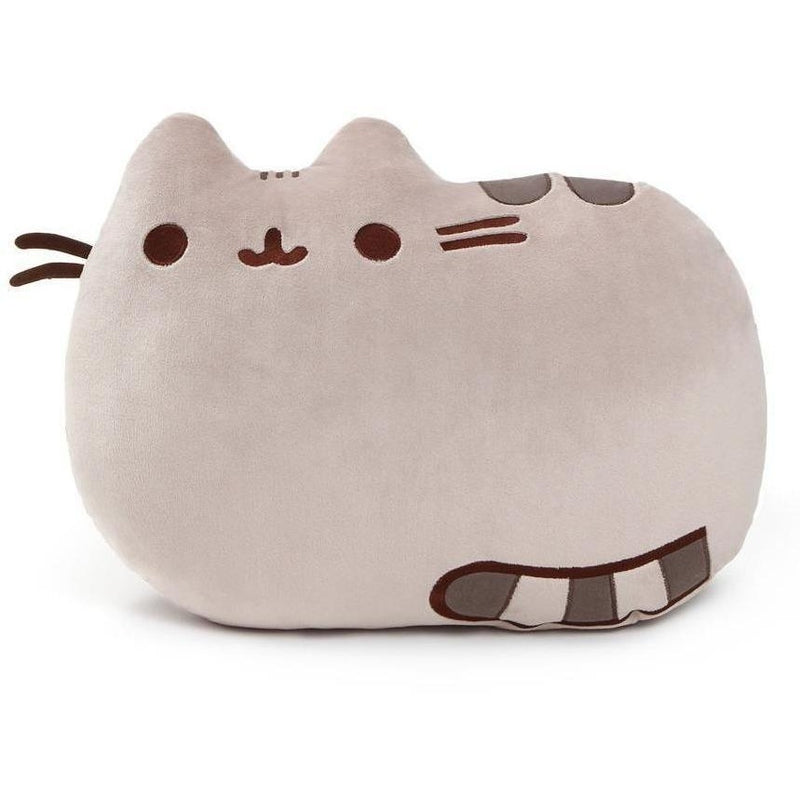 "Gund Pusheen Pillow 16.5"" - Licensed Plush Characters - Anglo Dutch Pools and Toys"