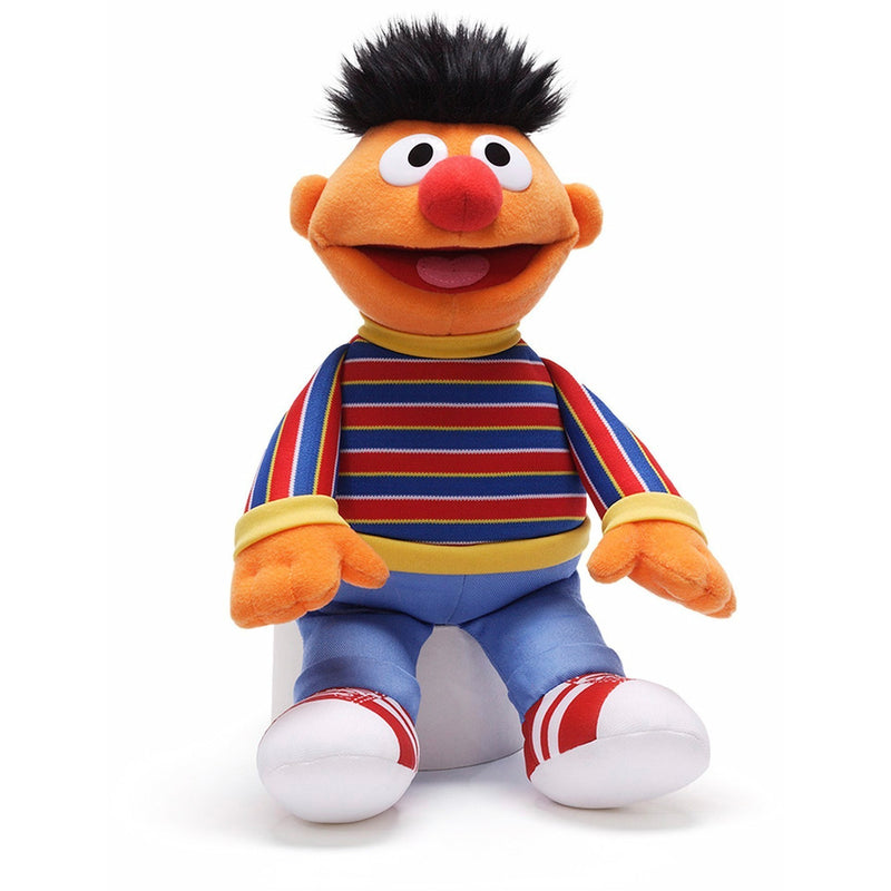 "Gund Sesame Street Ernie 13.5"" - Licensed Plush Characters - Anglo Dutch Pools and Toys"