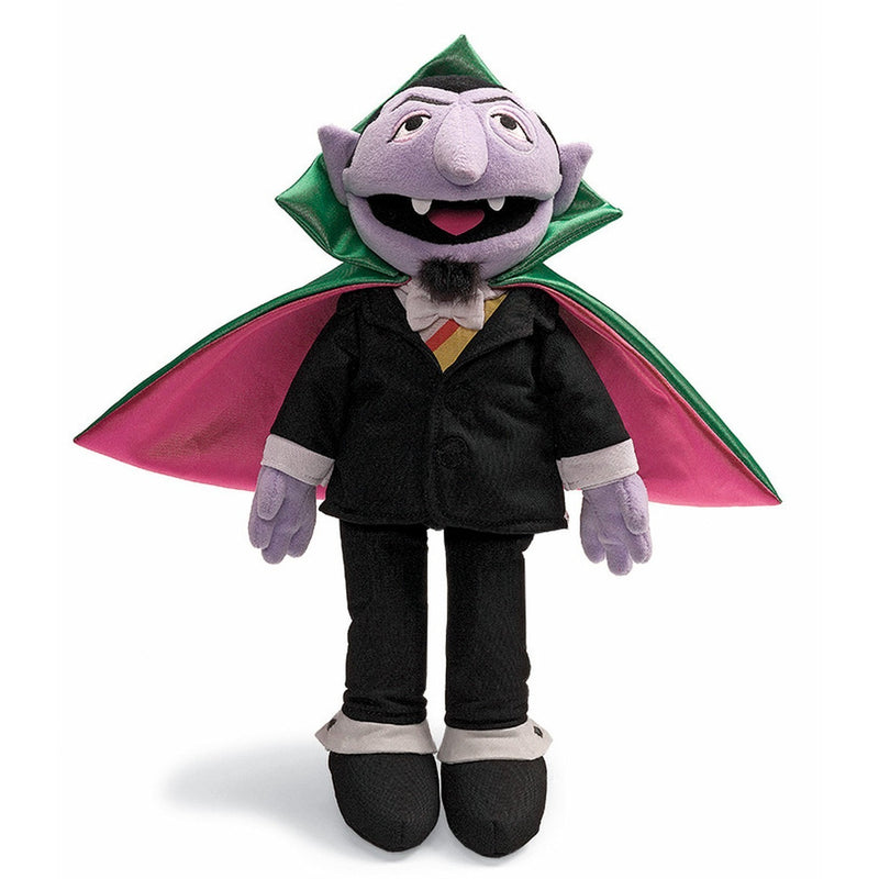 "Gund Sesame Street The Count 14"" - Licensed Plush Characters - Anglo Dutch Pools and Toys"