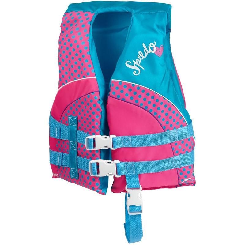 Speedo Begin to Swim Kids Personal Flotation Device- Pink - Life Jackets and Vests - Anglo Dutch Pools and Toys