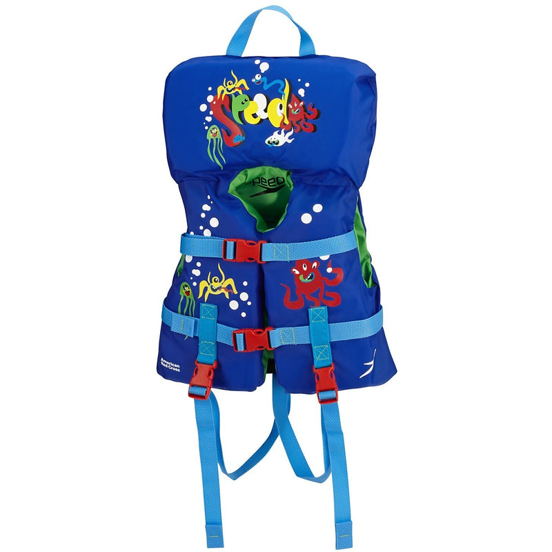 Speedo Infant Personal Flotation Device- Blue - Life Jackets and Vests - Anglo Dutch Pools and Toys