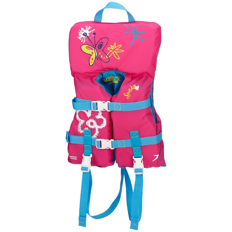 Speedo Infant Personal Flotation Device- Pink - Life Jackets and Vests - Anglo Dutch Pools and Toys