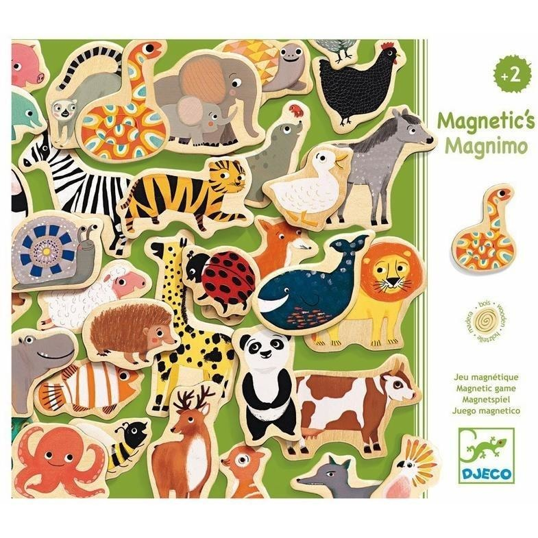 Magnet Sets - Djeco Magnimo Wooden Magnets