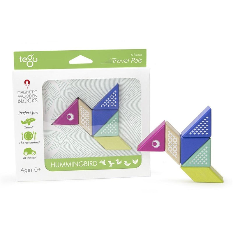 Tegu Magnetic Travel Pals- Hummingbird