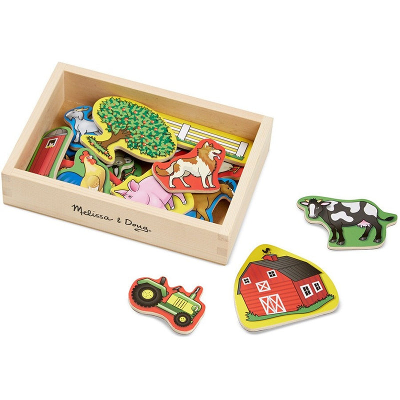 Melissa & Doug Wooden Farm Magnets - Magnet Sets - Anglo Dutch Pools and Toys