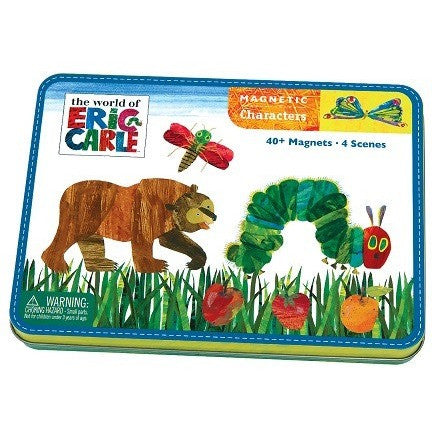 Mudpuppy Eric Carle The Very Hungry Caterpillar & Friends Magnetic Character Set - Magnetic Playscapes - Anglo Dutch Pools and Toys