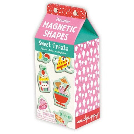 Mudpuppy Sweet Treats Wooden Magnetic Set - Magnet Sets - Anglo Dutch Pools and Toys