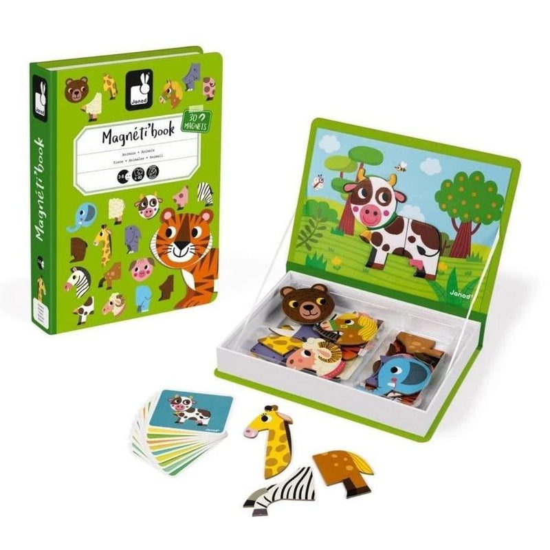 Magnetic Playscapes - Janod Animals Magnetibook