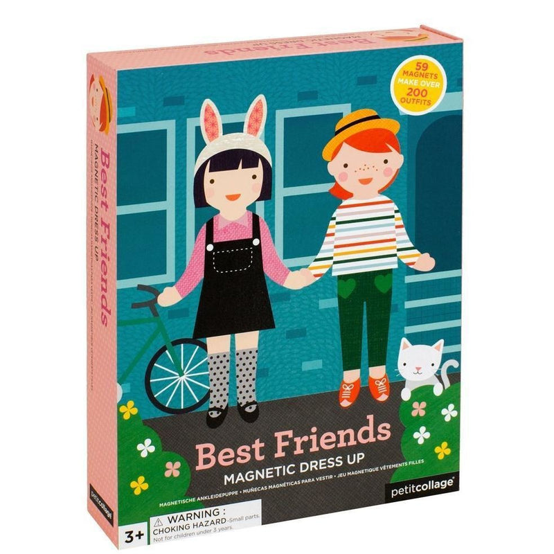 Petit Collage Best Friends Magnetic Builder