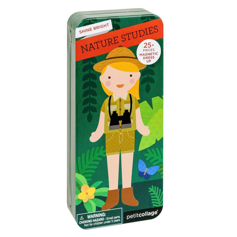 Magnetic Playscapes - Petit Collage Shine Bright: Nature Studies Travel Magnetic Dress Up