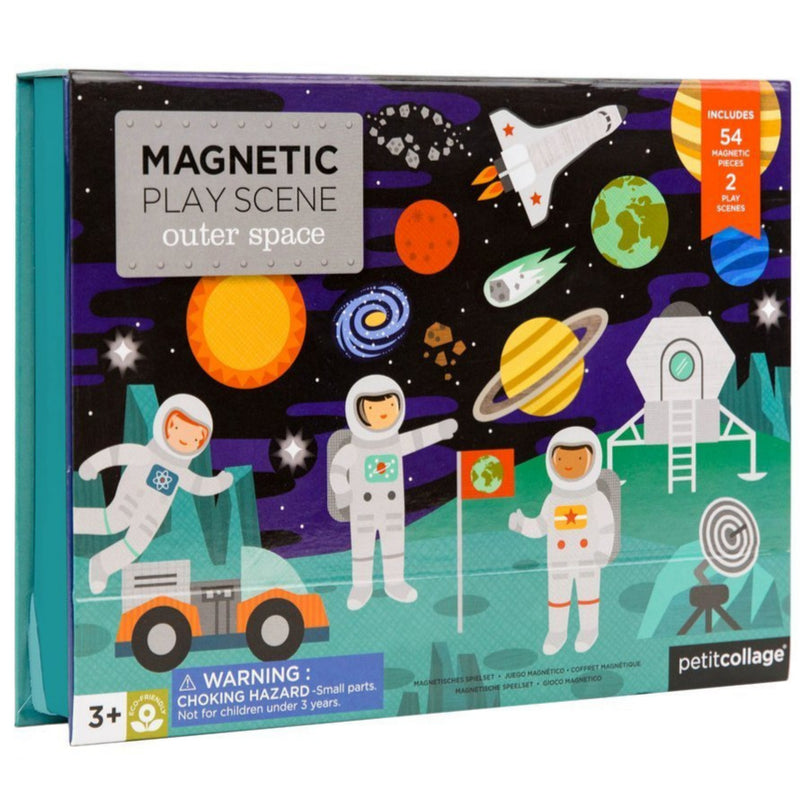 Magnetic Playscapes - Petit Collage Space Magnetic Play Scene