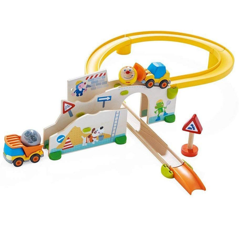 Marble Runs And Mazes - HABA Kullerbu Construction Site Set