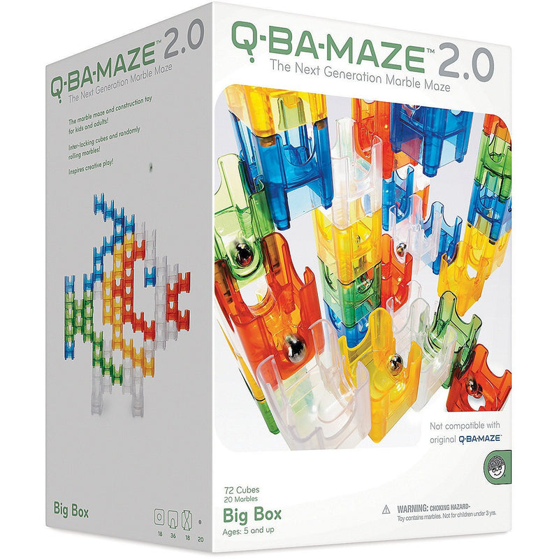 MindWare Q-Ba-Maze Big Box - Marble Runs and Mazes - Anglo Dutch Pools and Toys