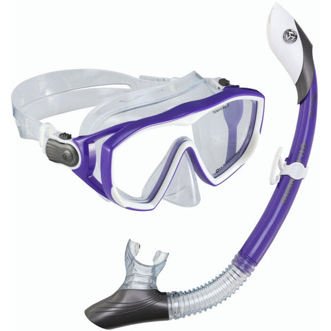 U.S. Divers Diva LX + Island Dry Mask & Snorkel - Mask and Snorkel Set - Anglo Dutch Pools and Toys