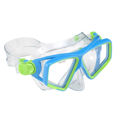 Mask - U.S. Divers Lanai Jr Mask- Blue/Green