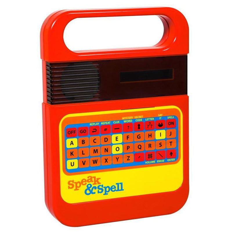 Math And Word Games - Speak & Spell Retro Learning Game