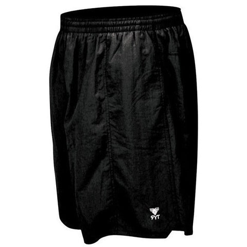 TYR Men's Classic Deckshorts- Black- - Anglo Dutch Pools & Toys