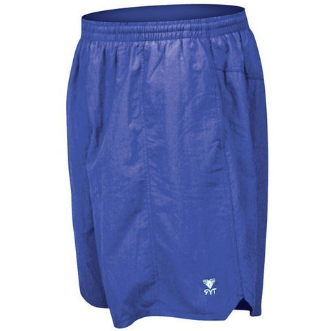 TYR Men's Classic Deckshorts- Royal- - Anglo Dutch Pools & Toys