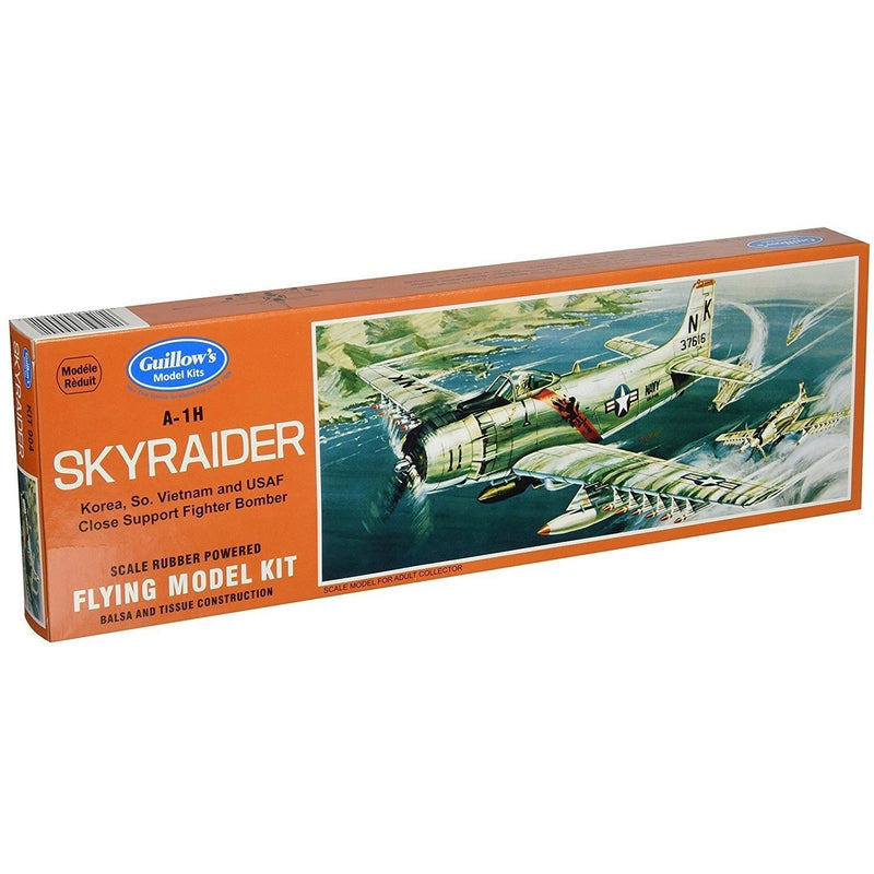 Models - Guillow's Douglas A-1H Skyraider Model Kit