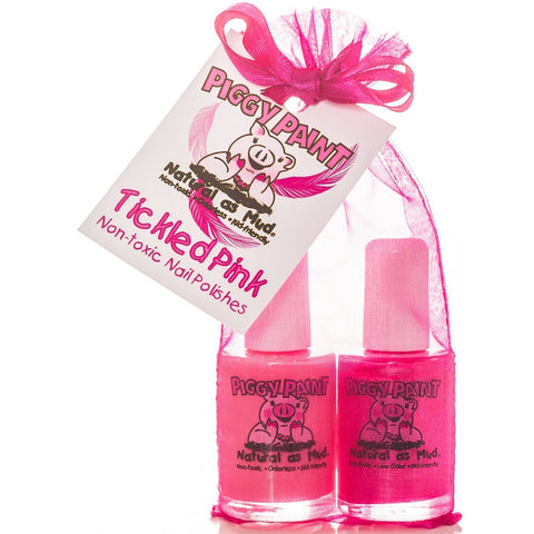 Piggy Paint Tickled Pink Nail Polish Set- - Anglo Dutch Pools & Toys