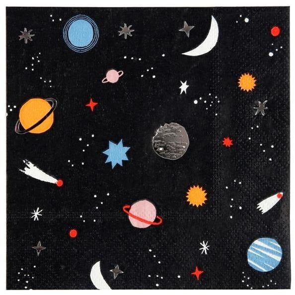Napkins - Meri Meri Space Small Napkin