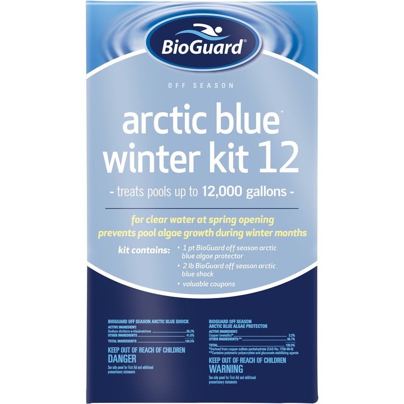Off Season Chemicals - BioGuard Arctic Blue Winter Kit (12K Gallons)