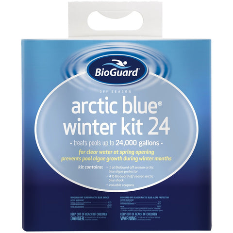 Off Season Chemicals - BioGuard Arctic Blue Winter Kit (24K Gallons)
