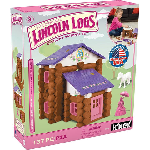 Other Building Sets - Lincoln Logs Country Meadow Cottage