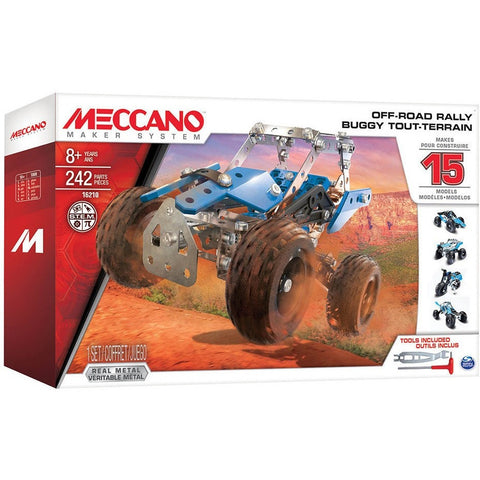Meccano 15 Models Set - Off-Road Rally - Other Building Sets - Anglo Dutch Pools and Toys