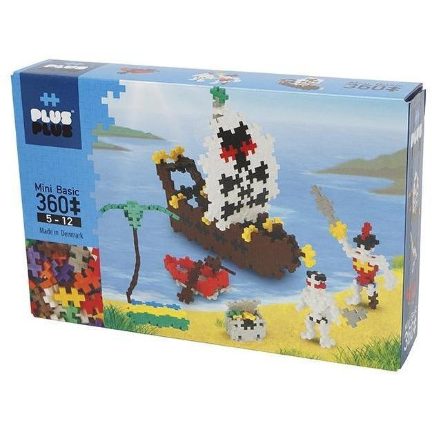 Plus-Plus Mini 360 pc Pirates