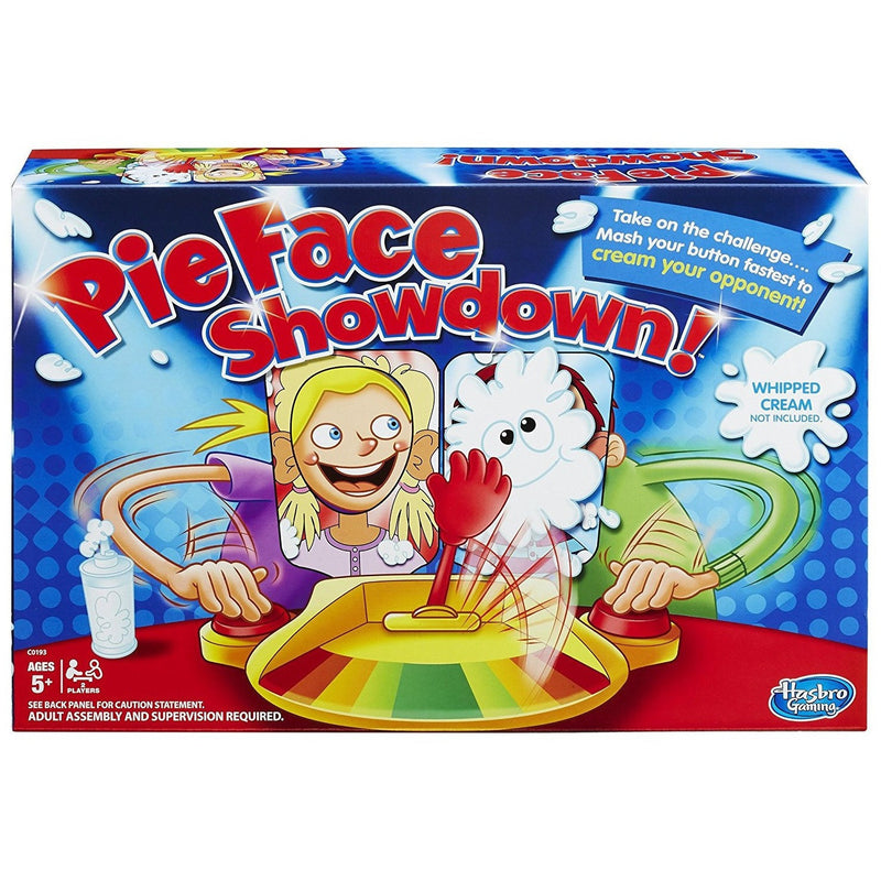 Pie Face Showdown Game- - Anglo Dutch Pools & Toys  - 1