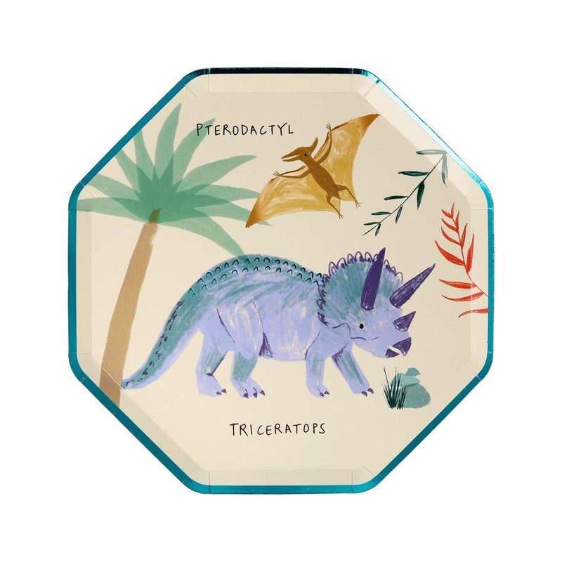 Party Plates - Meri Meri Dinosaur Kingdom Side Plates