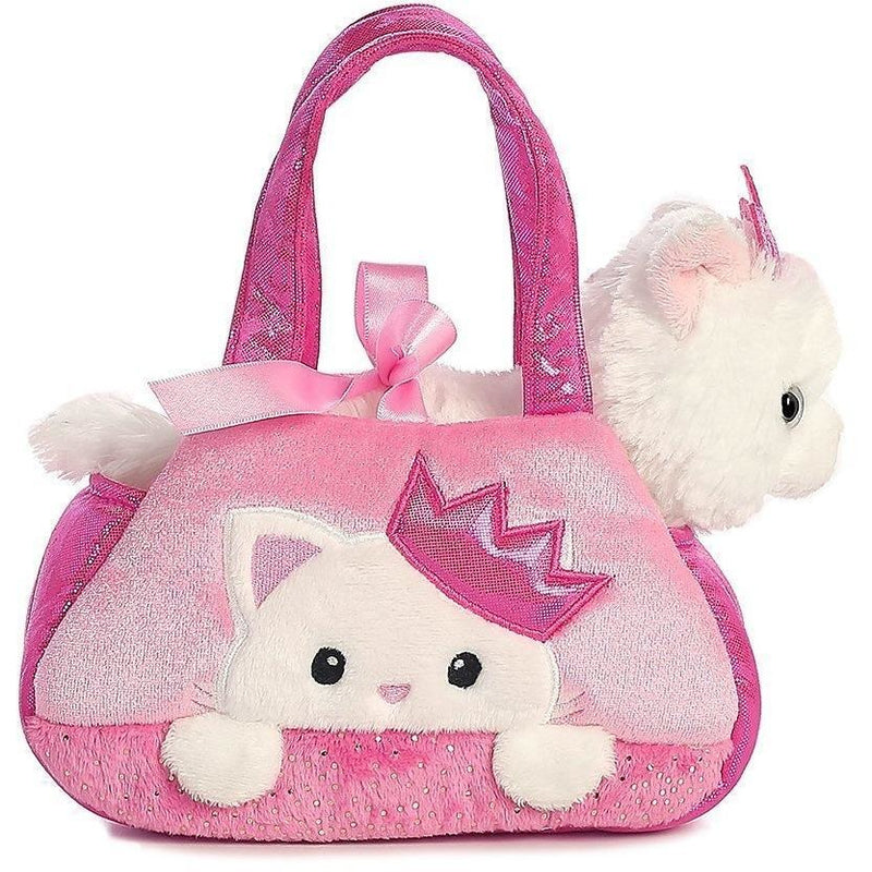 Aurora Fancy Pals - Peek-A-Boo Princess Kitty Pet Carrier