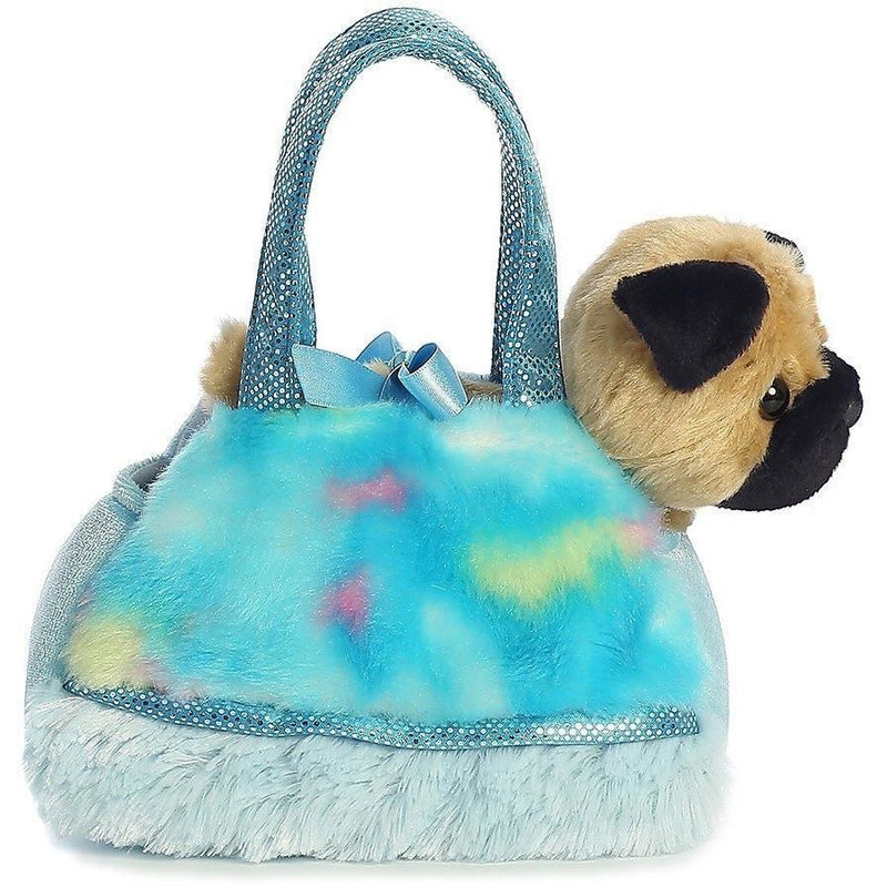 Aurora Fancy Pals - Tye Dye Blue Pet Carrier