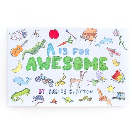 A Is for Awesome - Picture Books - Anglo Dutch Pools and Toys