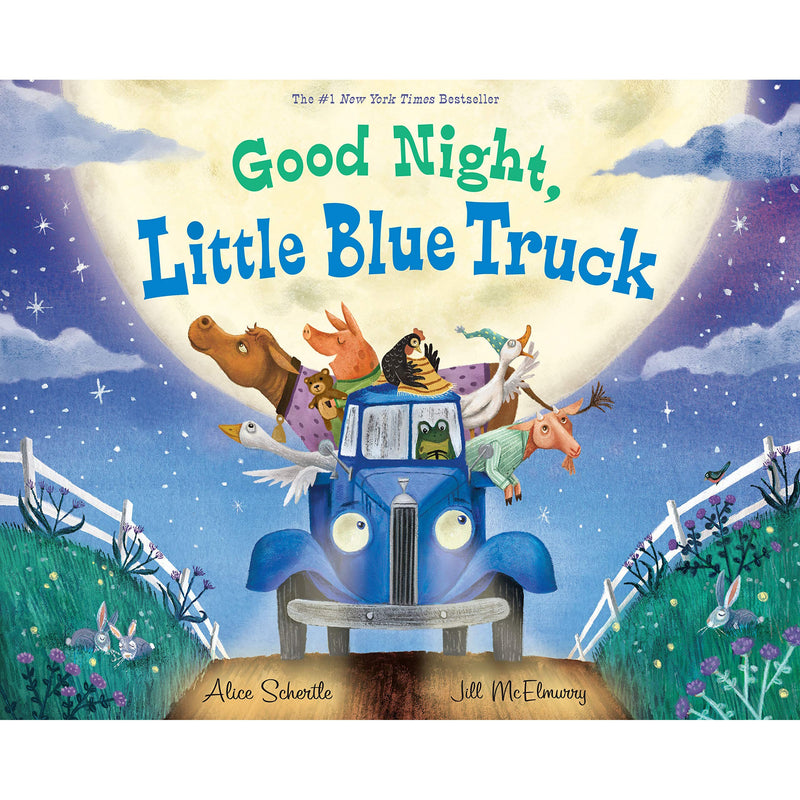 Picture Books - Good Night, Little Blue Truck
