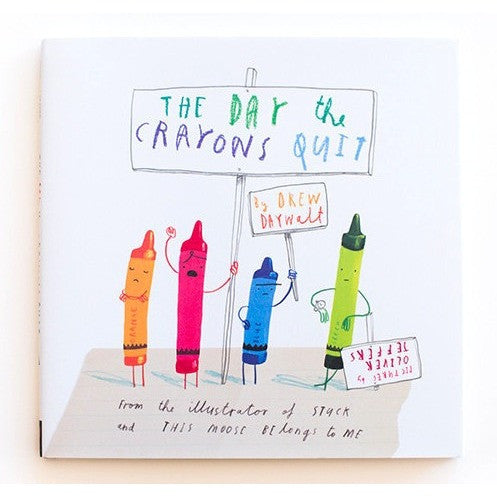 The Day the Crayons Quit - Picture Books - Anglo Dutch Pools and Toys