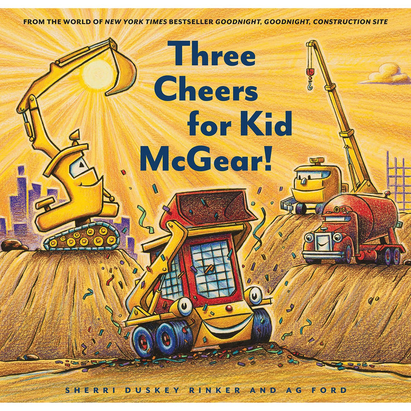 Picture Books - Three Cheers For Kid McGear!