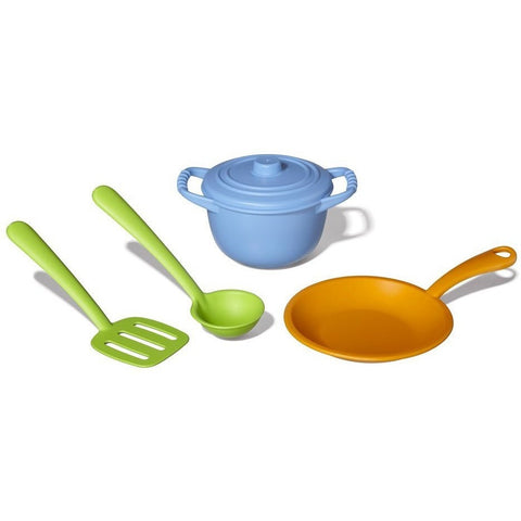 Green Toys Chef Set- - Anglo Dutch Pools & Toys  - 1