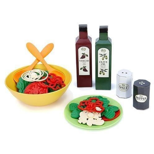 Play Food And Kitchen - Green Toys Salad Set