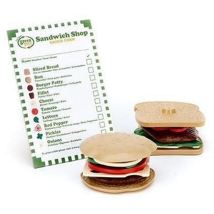 Play Food And Kitchen - Green Toys Sandwich Shop