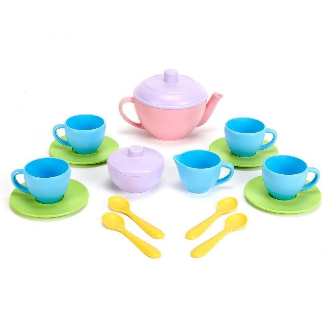 Green Toys Tea Set | Play Food and Kitchen