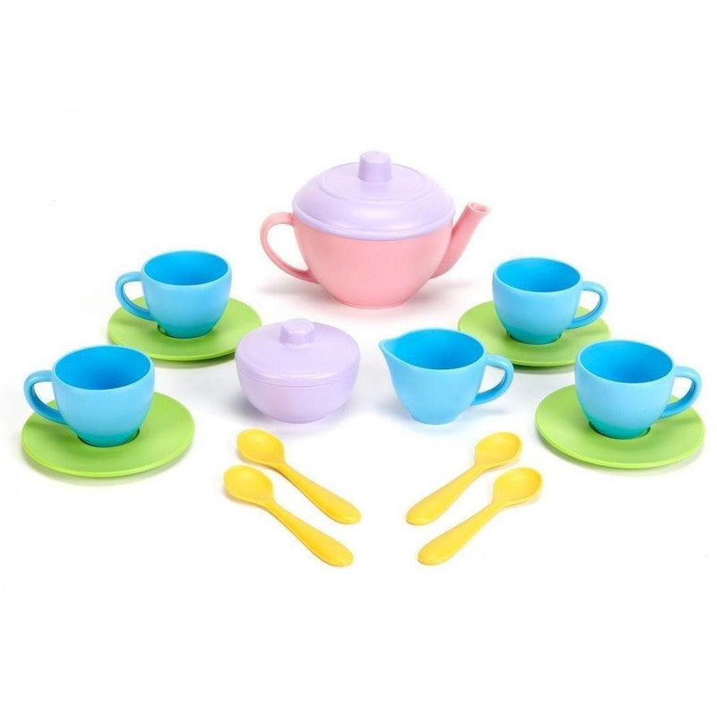 Play Food And Kitchen - Green Toys Tea Set