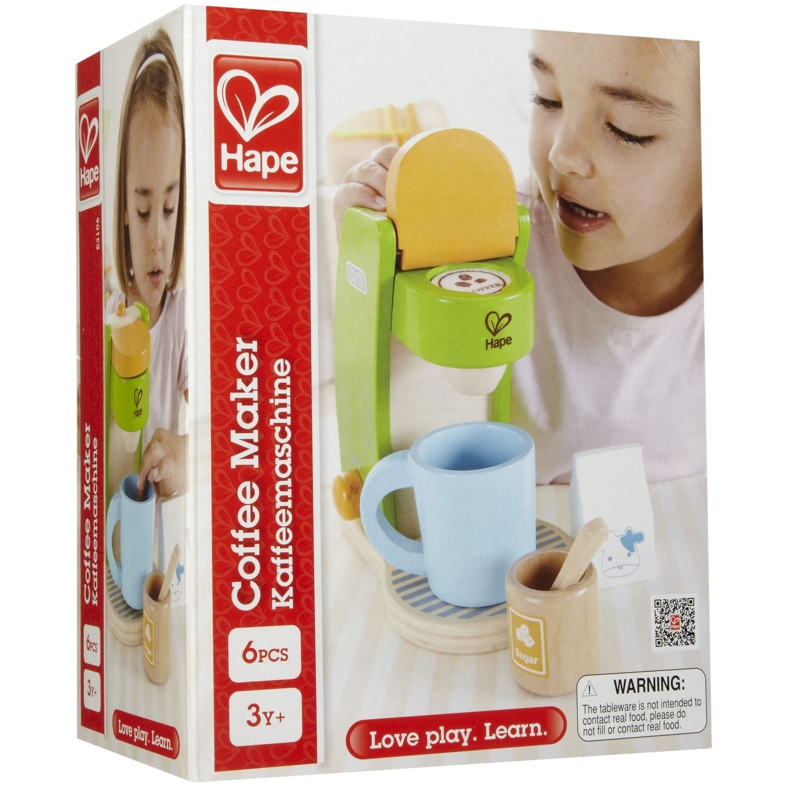 Hape Coffee Maker Play Food And Kitchen