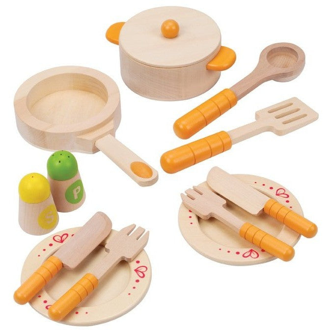 Hape Gourmet Kitchen Starter Set   Play Food And Kitchen   Anglo Dutch  Pools And Toys