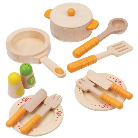 Hape Gourmet Kitchen Starter Set - Play Food and Kitchen - Anglo Dutch Pools and Toys