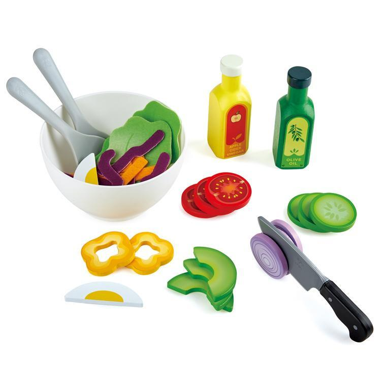 Play Food And Kitchen - Hape Healthy Salad Playset