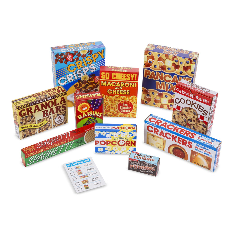 Play Food And Kitchen - Melissa & Doug Let's Play House! Grocery Shelf Boxes