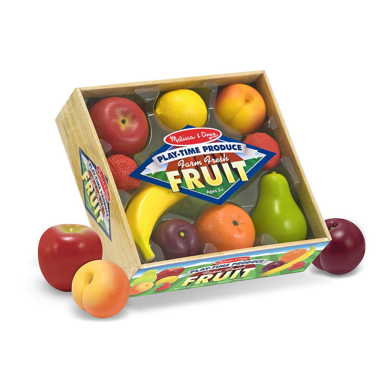 Play Food And Kitchen - Melissa & Doug Play-Time Produce Fruit - Play Food